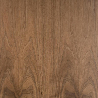 Straight/Crown Grain Walnut Faced Plywood